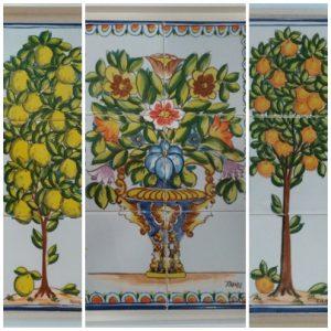 Enmarcación de azulejos