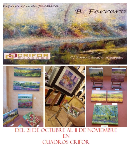Exposición de pintura de Blanca Ferrero